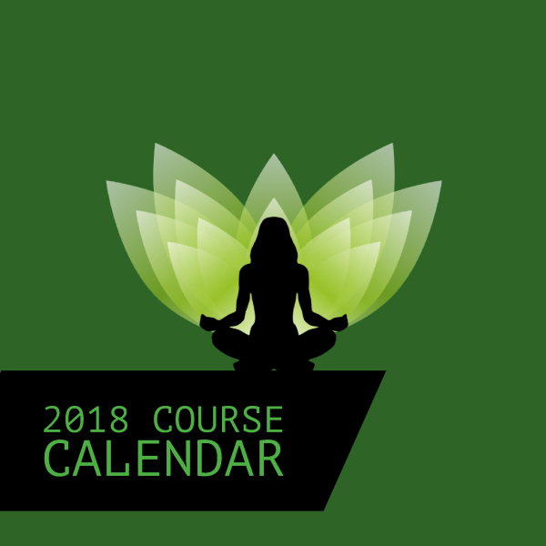 Ask for our 2018 Course Calendar
