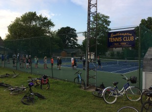 15 courts at three locations!