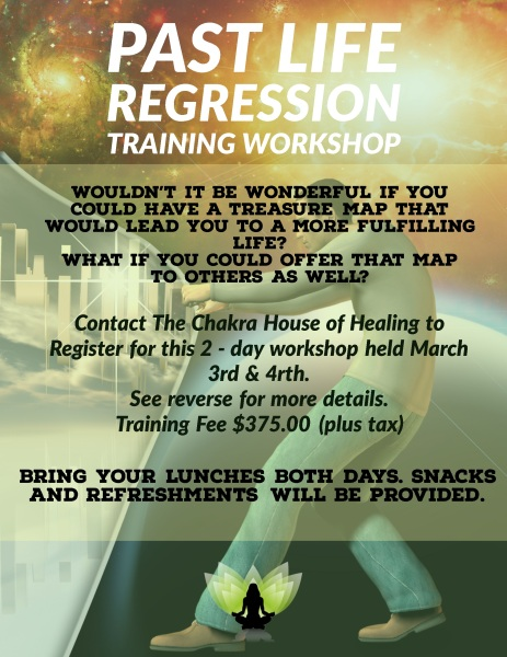 Past Life Regression Course Info