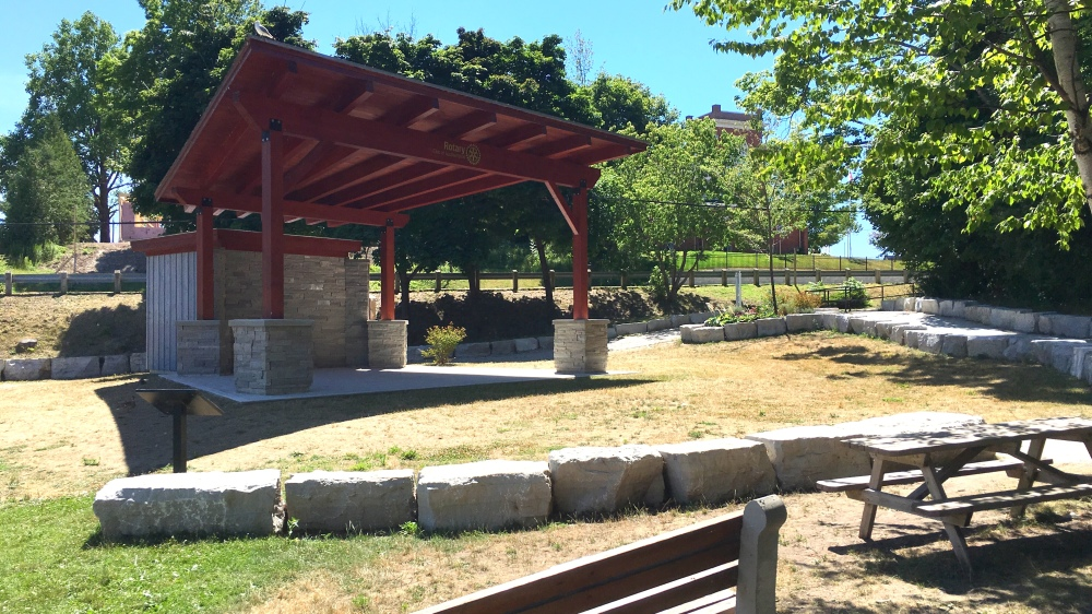 The band shell