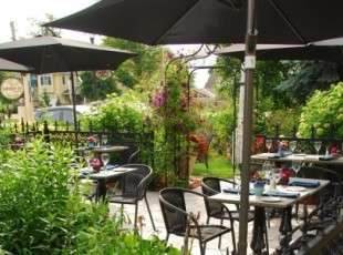 You don't have to be a guest to enjoy our patio - public welcomed