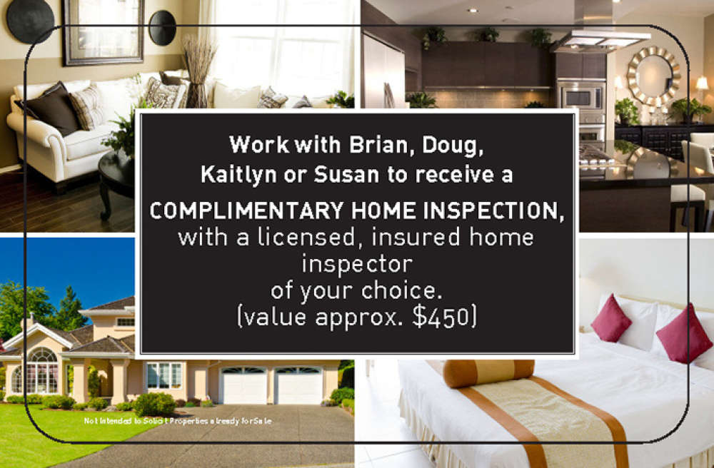 Complementary Home Inspection