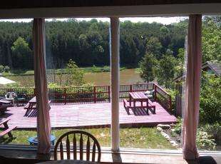 Rosewood Diningroom View from Window