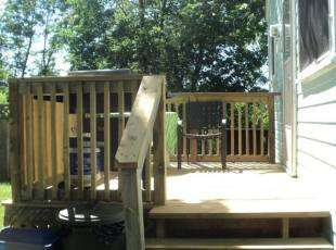 Rosewood Cottage #1 Deck